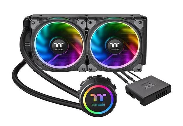 240mm Thermaltake Floe Riing RGB 240 TT Premium Edition RGB AIO CPU Cooler