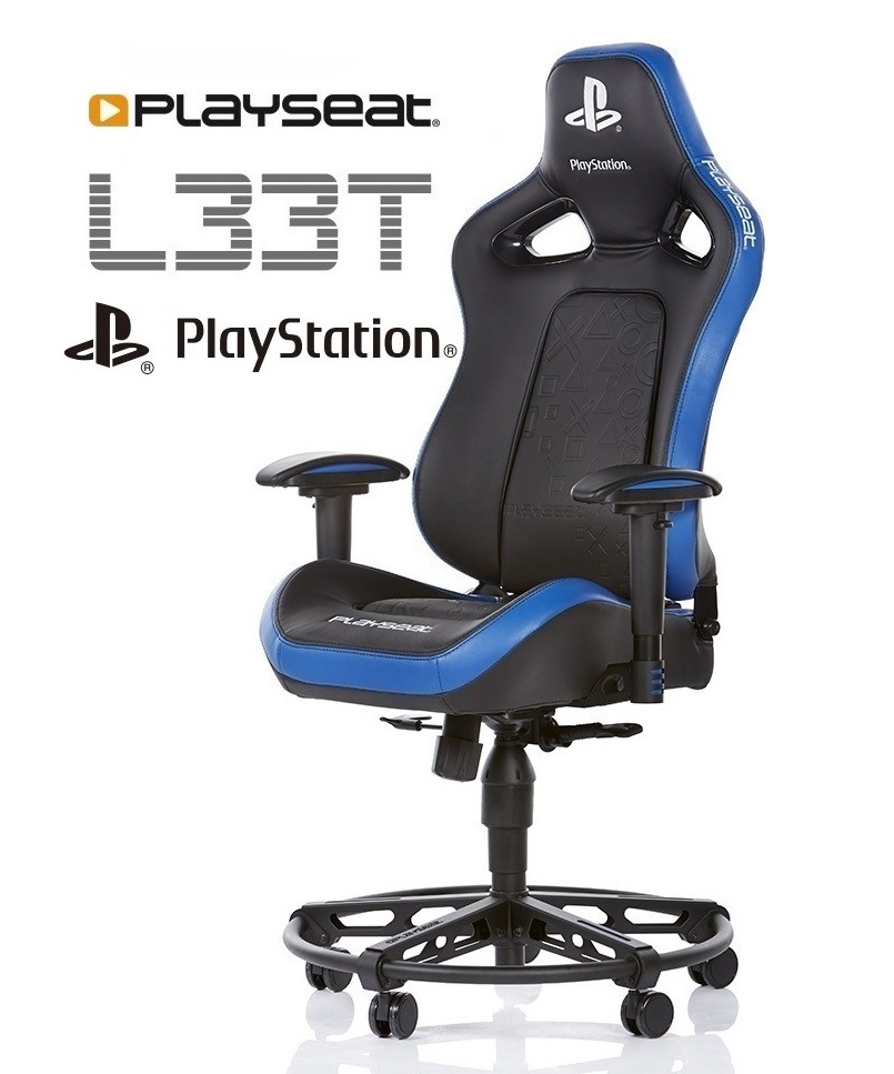 Playseat L33T Gaming Chair - Playstation Edition image
