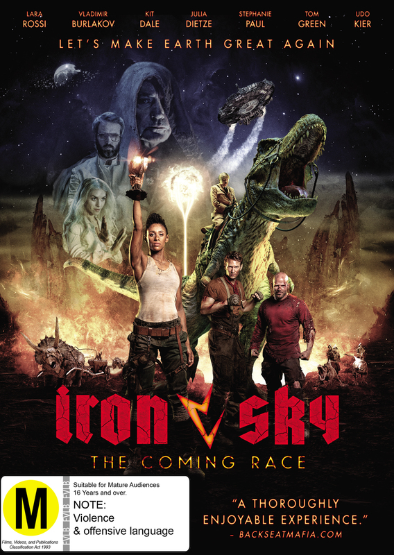 Iron Sky - The Coming Race on DVD