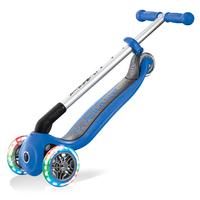 Globber: Primo Lights - Foldable Scooter (Navy Blue) image