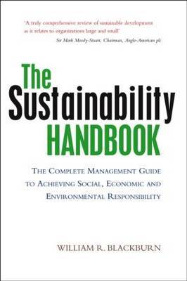 The Sustainability Handbook by William R Blackburn image