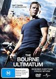The Bourne Ultimatum on DVD