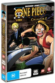 One Piece (Uncut) Collection 2 (Eps 14-26), (2 Disc Set) on DVD