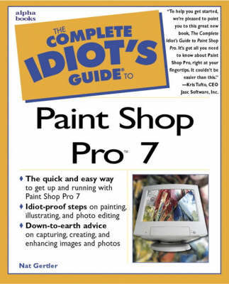 Complete Idiot's Guide to Paint Shop Pro 7 by Nat Gertler image