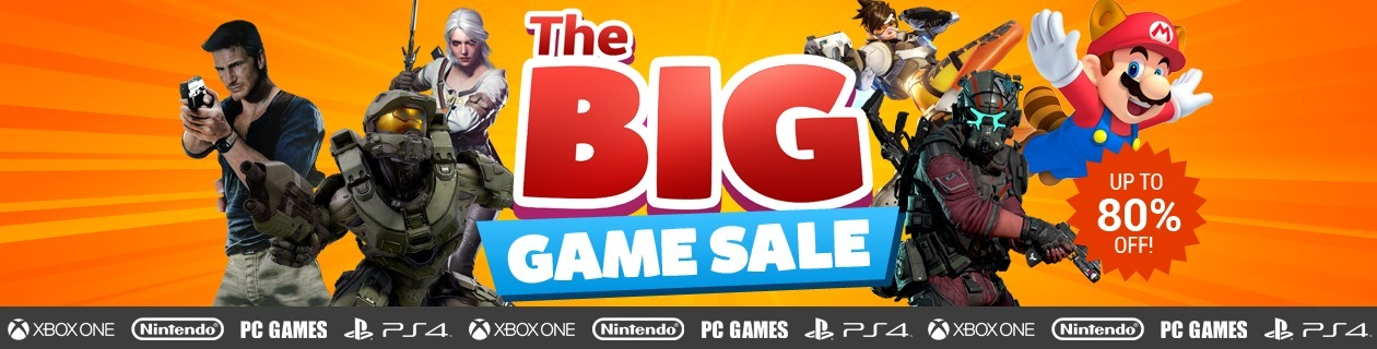 big game sale