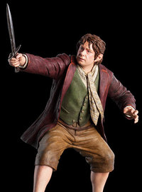 The Hobbit: Bilbo Baggins - 1:6 Scale Replica Statue