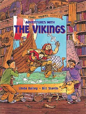 Adventures with the Vikings by Linda Bailey image