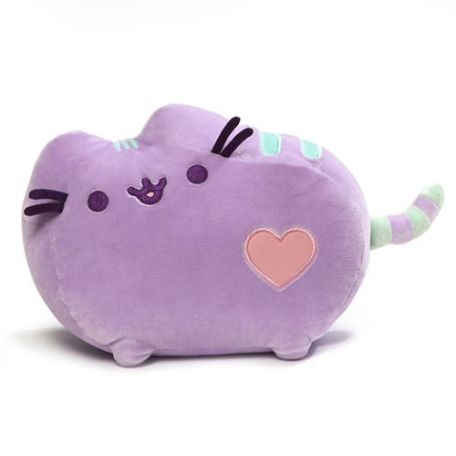 Pusheen the Cat: Purple Pastel - Heart Plush