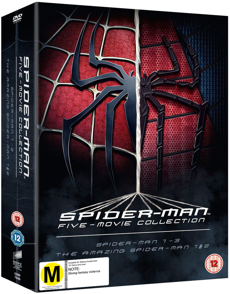 Spider-Man Five Movie Collection on Blu-ray image
