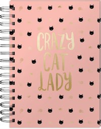 Lady Janye: Spiral Bound Notebook - Crazy Cat Lady