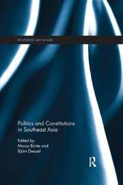 Politics and Constitutions in Southeast Asia image