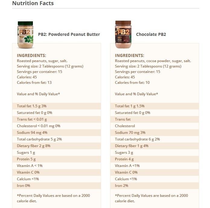 PB2 Powdered Peanut Butter - Natural (184g) image