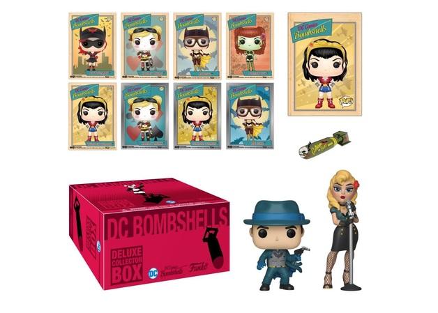 DC Comics - Bombshells Funko Gift Box