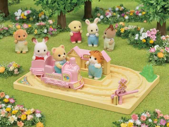 Sylvanian Families - Baby Choo-Choo Train image