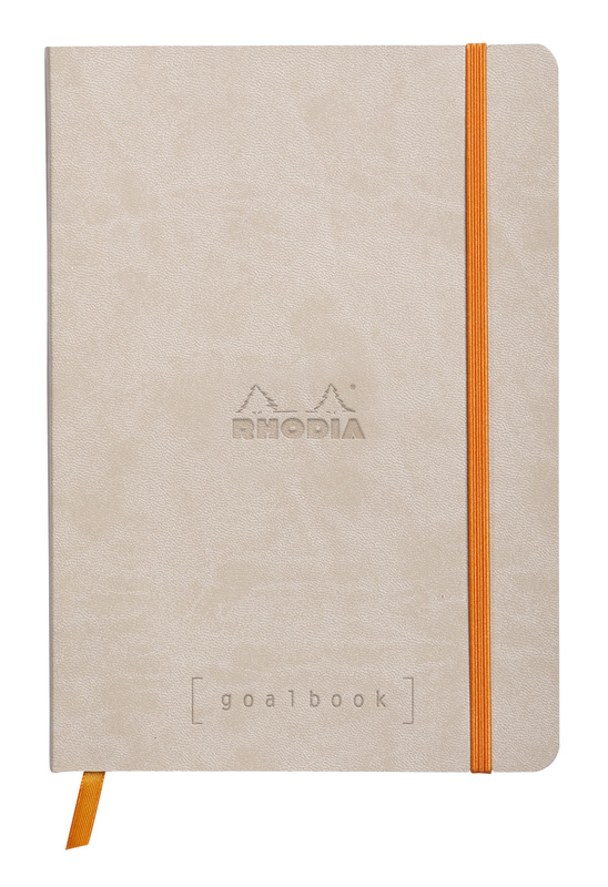Rhodiarama A5 Goalbook Dot Grid - Beige
