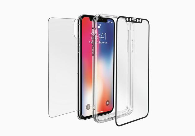 Cygnett: 360° Bundle Glass front/Back screen protector with Bumper for iPhone Xs