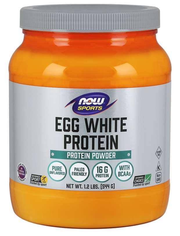 Now Foods - Egg White Protein Powder (544g) image