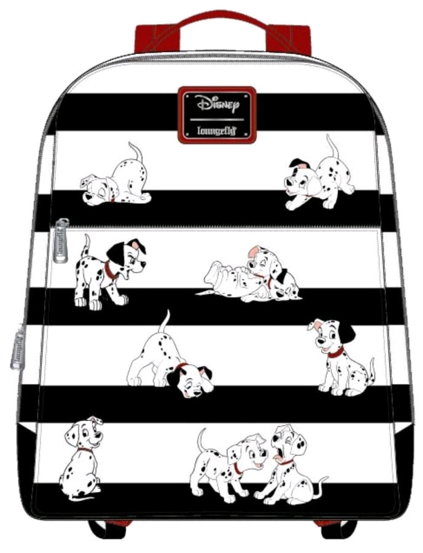 Loungefly: 101 Dalmatians Mini Backpack - Stripes & Pups