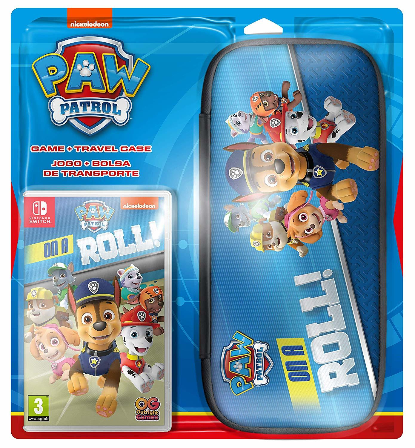 PAW Patrol: On a Roll! + Travel Case screenshot