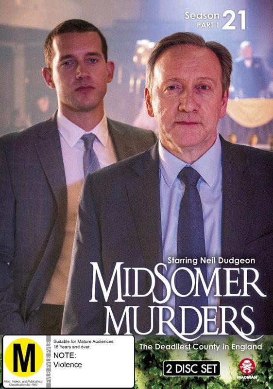 Midsomer Murders: Season 21 - Part 1 on DVD
