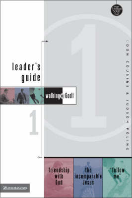 Walking with God Leader's Guide 1 by Don Cousins image