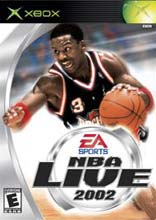 NBA Live 2002 for Xbox
