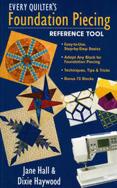 Every Quilter's Foundation Piecing Reference Tool by Jane Hall image