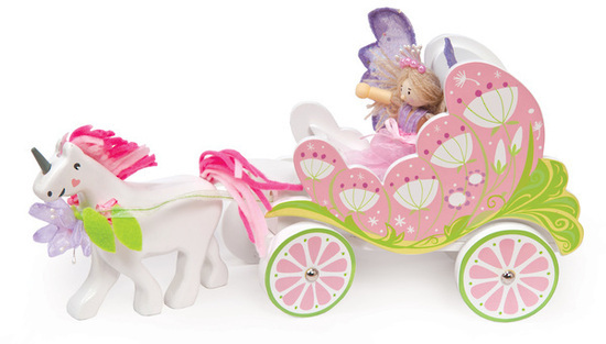 Le Toy Van: Budkins - Fairybelle Carriage and Unicorn image
