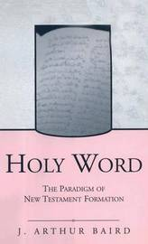 Holy Word by J.Arthur Baird image