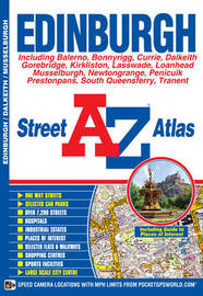 Edinburgh Street Atlas by Geographers A-Z Map Company