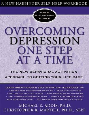 Overcoming Depression One Step at a Time by Michael E. Addis image
