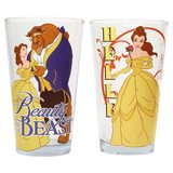 Beauty and the Beast Pint Glass (2-Pack)