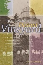 The Lord's Distant Vineyard by Vincent J. McNally image