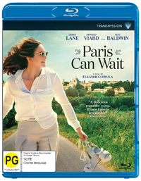 Paris Can Wait on Blu-ray