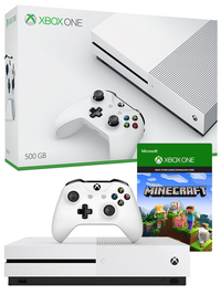 Xbox One S 500GB Minecraft Console Bundle for Xbox One