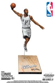 "NBA SportsPicks: Kawhi Leonard (San Antonio Spurs) - 6"" Action Figure"