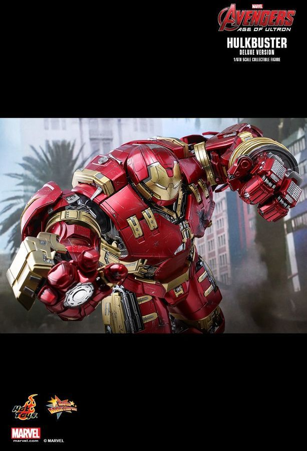 "Avengers 2 Age of Ultron: Hulkbuster (Deluxe) - 12"" Articulated Figure image"