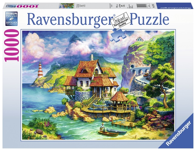 Ravensburger: 1,000 Piece Puzzle - The Cliff House