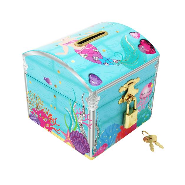 Pink Poppy: Under the Sea - Lockable Money Box