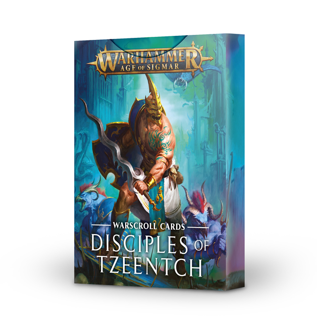 Warhammer Age of Sigmar Disciples of Tzeentch Warscroll Cards