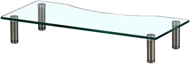 Gorilla Arms Glass Monitor Riser