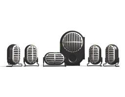 Altec Lansing XA3051 5.1 Speaker System for Xbox image