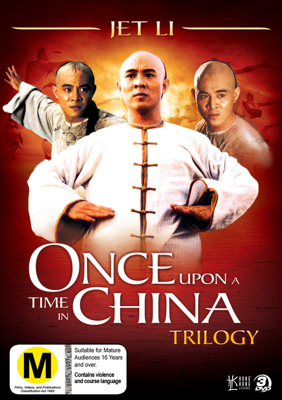 Once Upon A Time In China Trilogy (Hong Kong Legends) (3 Disc Set) on DVD