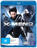 X-Men 2 on Blu-ray