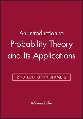 An Introduction to Probability Theory and Its Applications, Volume 2 by William Feller