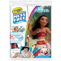 Crayola: Color Wonder Mess Free Activity Pack - Moana image