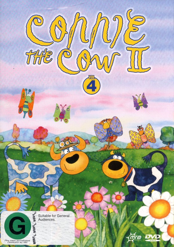 Connie The Cow II - Vol. 4 on DVD image