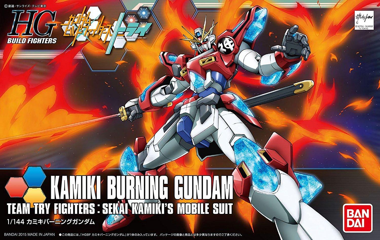 HGBF 1/144 Kamiki Burning Gundam - Model Kit image
