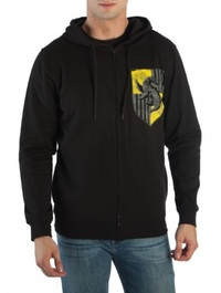 Harry Potter: Hufflepuff - Zip Up Hoodie (Large)
