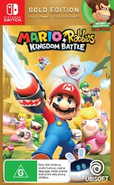 Mario + Rabbids: Kingdom Battle Gold Edition for Nintendo Switch
